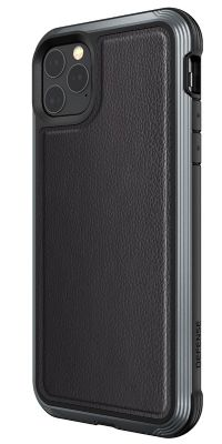 Defense Lux iPhone 11 Black Leather