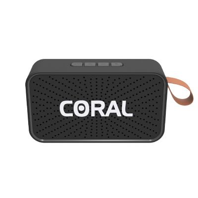 Coral Mini Box Black